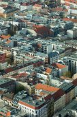 Aerial view of Berlin, Germany — Stock Photo