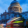 St Pauls Cathedral in London, UK, at dawn — Stock Photo #55253051