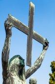 Cimitero 名人曾在米兰,意大利 — 图库照片