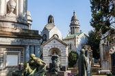 Cimitero Monumentale in Milan, Italy — Стоковое фото
