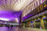 Ticket hall of the Kings Cross station in London, UK — Stock Photo
