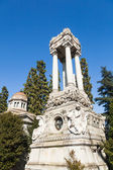 Cimitero Monumentale in Milan, Italy — Stock Photo