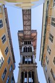 Elevator Santa Justa in Lisbon, Portugal — Stock Photo
