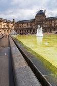 Louvre Museum in Paris, France — Stock Photo