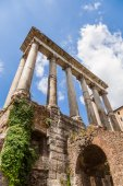 At the Forum Romanum in Rome, Italy — Stock Photo