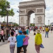 Arc de Triomphe in Paris, France — Stock Photo #55858935