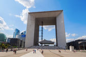Grande Arche in the financial district La Defense in Paris, France — ストック写真