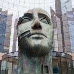 Sculpture of the famous sculpturist Igor Mitoraj in La Defense, Paris, France — Stock Photo #55913309