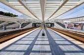 Station Guillemines in Liege, Belgium — Zdjęcie stockowe