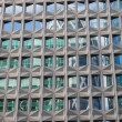Facade of an office building in the financial district of La Defense in Paris, France — Stock Photo #55959597