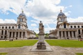 Old Royal Naval College in Greenwich, England — Stock Photo