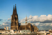 Cologne Cathedral in Cologne, Germany — Stock Photo