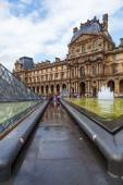 Museum Louvre in Paris, France — Stock Photo