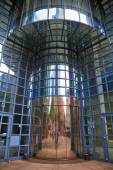 Modern entrance of an office building in Frankfurt am Main, Germany — Stock Photo