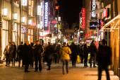 Shopping street Hohe Straße in Cologne, Germany — Stock Photo