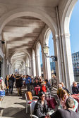 Alster Arcades in Hamburg, Germany — Foto de Stock