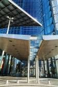 Entrance of the Deutsche Post Tower in Bonn, Germany — Stock Photo