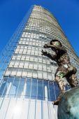 Deutsche Post Tower in Bonn, Germany — Stock Photo