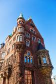 Old buildiings in the warehouse district of Hamburg, Germany — Stock fotografie