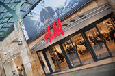 Branch of Hennes & Mauritz in Rotterdam, Netherland — Foto Stock