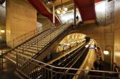 Metro station Cite in Paris, France — Stock Photo