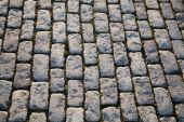 Background of cobblestone pavement — Stock Photo