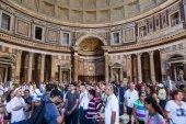 Pantheon v římě, itálie — Stock fotografie