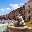Piazza Navona in Rome, Italy — Stock Photo #56621265