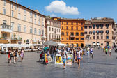 Piazza Navona in Rome, Italy — Stock Photo