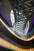 Shopping mail MyZeil from architect Massimiliano Fuksas in Frankfurt am Main, Germany — Foto de Stock