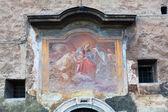 Tarihsel duvar resmi Roma, İtalya — Stok fotoğraf