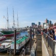 St Pauli Piers in Hamburg, Germany — Stock Photo #56764903