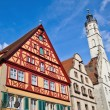 Picturesque Rothenburg ob der Tauber, Germany — Stock Photo #56848801