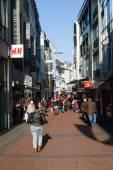 Shopping street in Bonn, Germany — Stock Photo