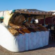 Market stall on the square Djemaa el Fnaa in Marrakech, Morocco — Stock Photo #56896937