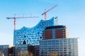 Elbphilharmone in the harbor of Hamburg, Germany — Stock Photo
