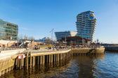Marco Polo tower in Hamburg, Germany — Stock Photo