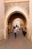 Archway in the medina of Marrakesh, Morocco — Stock Photo