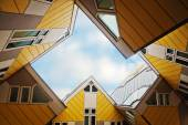 Cube Houses from architect Piet Blom in Rotterdam, Netherland — Stock Photo
