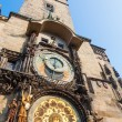 Historical City Hall Tower with a famous astronomical clock in Prague, Czechia — Stock Photo #57894247