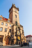 Historical City Hall Tower with a famous astronomical clock — Stockfoto