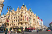 Historical buildings in Prague, Czechia — Foto Stock