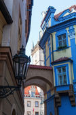 Picturesque old town of Prague, protected by UNESCO world heritage sites — Stock Photo