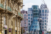 Dancing House from Frank Gehry in Prague, Czechia — Foto Stock