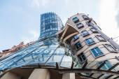 Dancing House from Frank Gehry in Prague, Czechia — Stockfoto