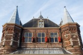 Historical building The Waag in Amsterdam, Netherlands — Stock Photo