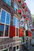 Famous Rembrandt house and museum in Amsterdam, Netherlands — Stock Photo
