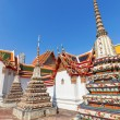 Wat Pho or Temple of the Reclining Buddha in Bangkok, Thailand — Stock Photo #62362667