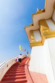 Golden Mount at Wat Saket in Bangkok, Thailand — 图库照片