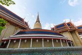 Wat Ratchabophit em Bangkok, Tailândia — Fotografia Stock